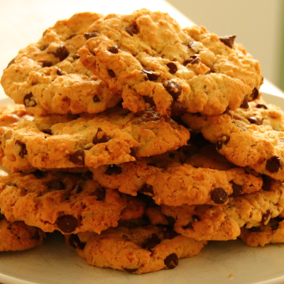 Chocolate Chip Oat Biscuits
