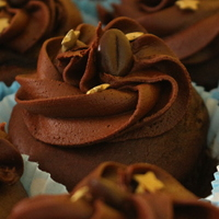 Image of Mocha cupcakes